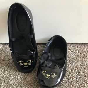 Cute cat dress shoes